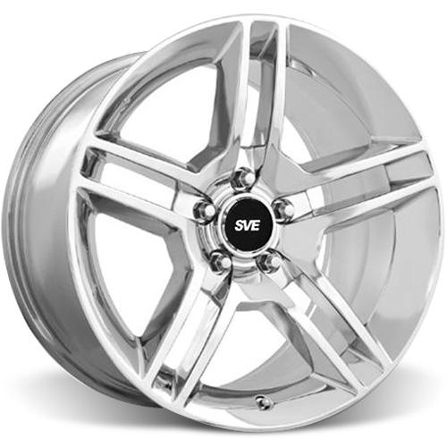 SVE Mustang GT500 Wheel - 18x9 Chrome (94-15)