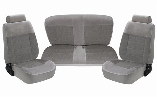 Mustang Seat Upholstery Opal Gray Cloth (1993) Convertible