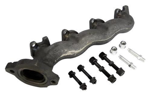 1996-2004 Mustang 4.6L 2V RH Exhaust Manifold Kit, Includes Gasket And Includes Manifold To Mid-Pipe Mounting Studs. - Picture of 1996-2004 Mustang 4.6L 2V RH Exhaust Manifold Kit, Includes Gasket And Includes Manifold To Mid-Pipe Mounting Studs.