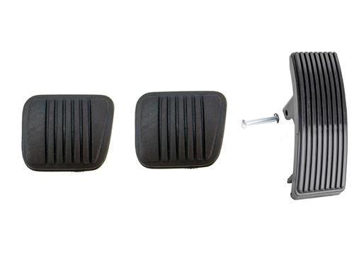 Mustang Pedal Pad Kit for Manual Transmission Except Svo (85-93)
