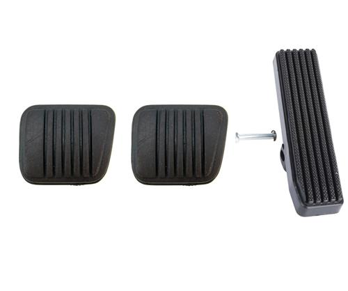 Mustang Pedal Pad Kit for Manual Transmission Except Svo (79-84)
