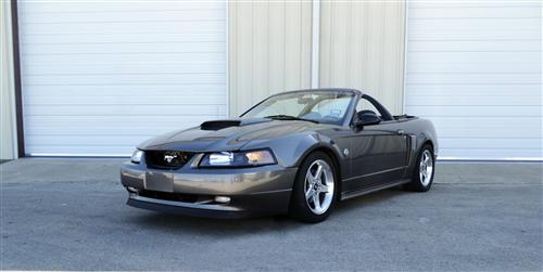SVE Mustang Convertible Styling Bar w/o Brake Light Black Vinyl (94-04)