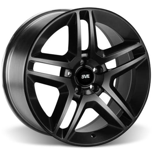 SVE Mustang GT500 Wheel - 19x8.5 Gloss Black (05-15) - SVE Mustang GT500 Wheel - 19x8.5 Gloss Black (05-15)