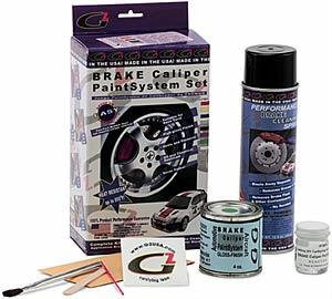 G2 Brake Caliper Paint Kit Black