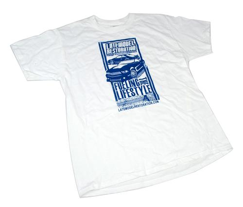 Latemodelrestoration.Com T-Shirt - Large