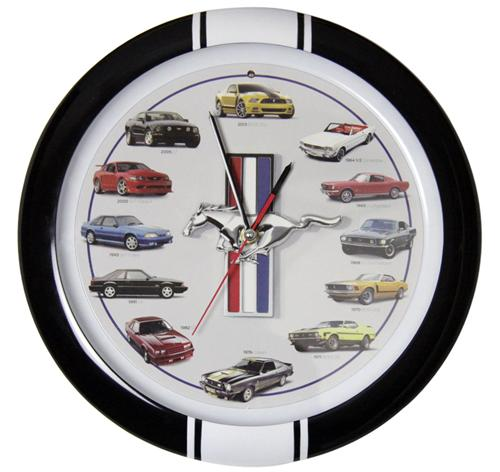 Mustang 50 Year Sound Clock - Picture of Mustang 50 Year Sound Clock