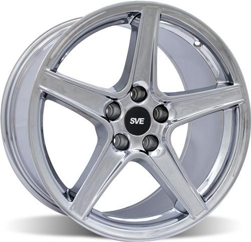 Mustang Saleen Wheel - 18x10 Chrome (94-04) - Picture of Mustang Saleen Wheel - 18x10 Chrome (94-04)
