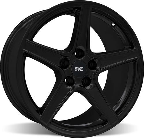 Mustang Saleen Wheel - 18x9 Black (94-04) - Picture of Mustang Saleen Wheel - 18x9 Black (94-04)