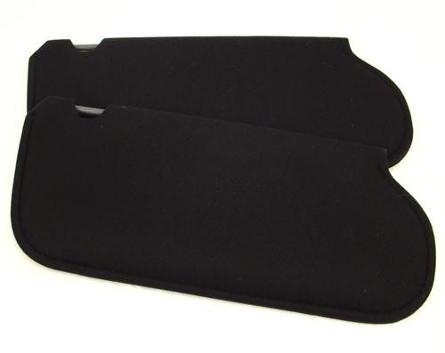 Mustang Sun Visors Black Cloth (1983)