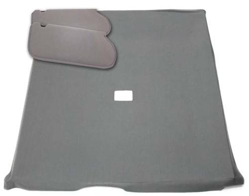 Mustang Sunvisor And Headliner Kit Dark Gray Cloth (85-86) Hatchback - Picture of Mustang Sunvisor And Headliner Kit Dark Gray Cloth (85-86) Hatchback