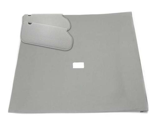 Mustang Sunvisor And Headliner Kit Light Gray Cloth (85-86) Coupe  - Picture of Mustang Sunvisor And Headliner Kit Light Gray Cloth (85-86) Coupe