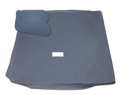 Mustang Sunvisor And Headliner Kit Regatta Blue Cloth (85-89) Coupe - Picture of Mustang Sunvisor And Headliner Kit Regatta Blue Cloth (85-89) Coupe