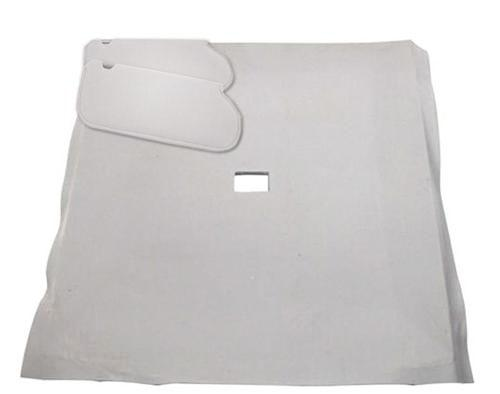 Mustang Sunvisor And Headliner Kit Titanium Gray (90-92) Coupe - Picture of Mustang Sunvisor And Headliner Kit Titanium Gray (90-92) Coupe