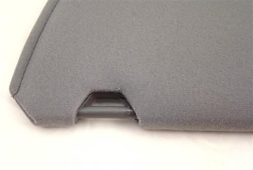 Mustang Sun Visors Opal Gray Cloth (1993)
