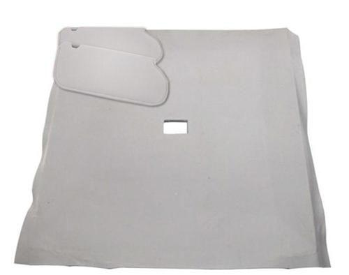 Mustang Sunvisor And Headliner Kit Opal Gray Cloth (1993) Hatchback - Mustang Sunvisor And Headliner Kit Opal Gray Cloth (1993) Hatchback