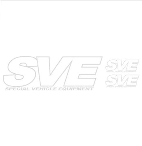 SVE 3 Pack Decal Kit White