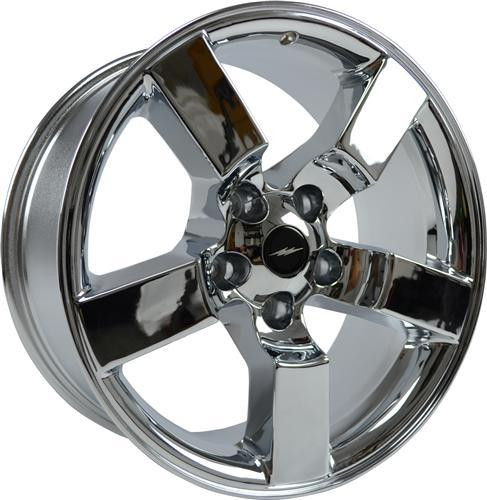 "1999-04 Ford Lightning Wheel Chrome 18x9.5"" - 1999-04 Ford Lightning Wheel Chrome 18x9.5"""