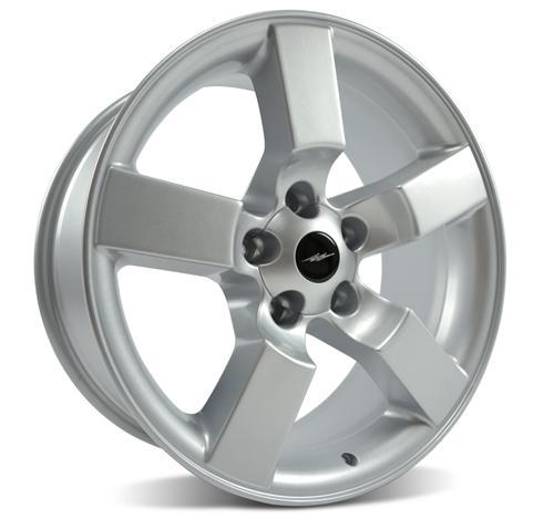 "1999-04 Ford Lightning Wheel Silver 18x9.5"" - 1999-04 Ford Lightning Wheel Silver 18x9.5"""
