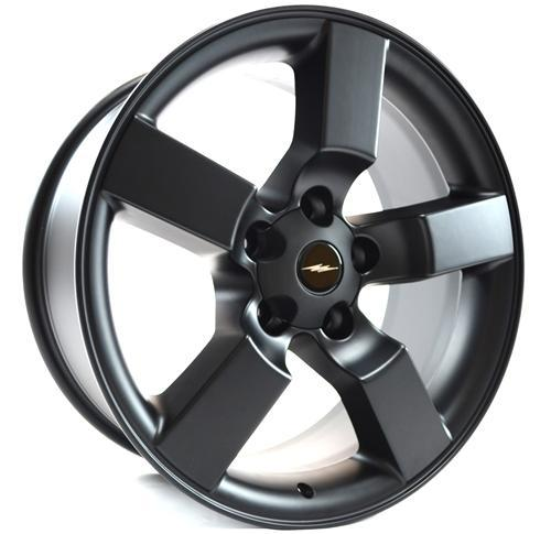 "1999-04 Ford Lightning Wheel Matte Black 18x9.5"" - 1999-04 Ford Lightning Wheel Matte Black 18x9.5"""