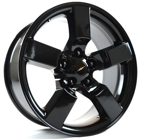 "1999-04 Ford Lightning Wheels Gloss Black 18x9.5"" - 1999-04 Ford Lightning Wheels Gloss Black 18x9.5"""
