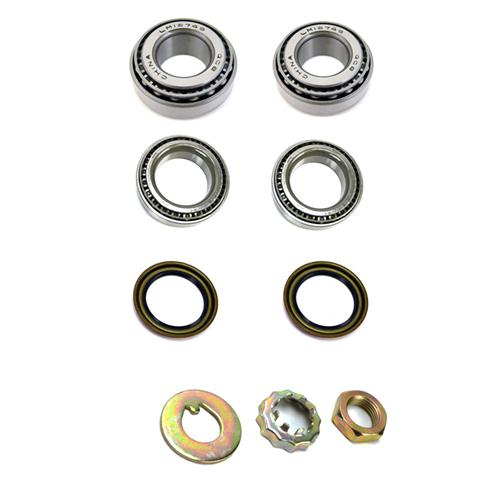 Front Brake Rotor Bearing & Seal Kit (99-04) - Front Brake Rotor Bearing & Seal Kit (99-04)