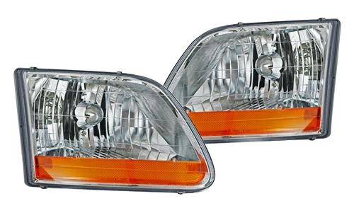 F-150 SVT Lightning Harley Davidson Edition Headlight Kit (99-04)