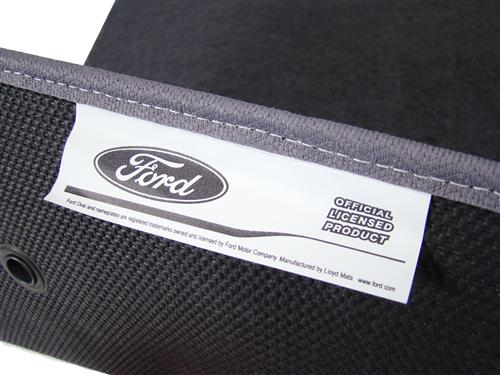 F-150 SVT Lightning Floor Mats with Svt F150 Logo Dark Graphite  (99-04)