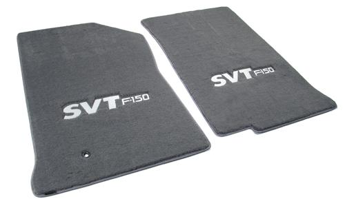 SVT Lightning Floor Mats with Svt F150 Logo Dark Graphite  (99-04)