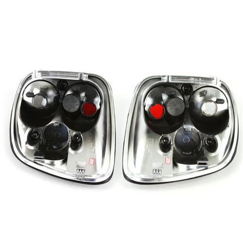 F-150 SVT Lightning Chrome Taillights (99-00)
