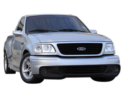 1999-00 Ford Lightning Smoked Fog Light Tint.   Same as SVE-15203S but for 99-00 lightning - Picture of 1999-00 Ford Lightning Smoked Fog Light Tint.   Same as SVE-15203S but for 99-00 lightning