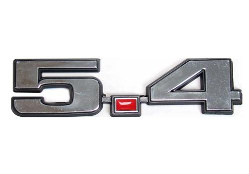F-150 SVT Lightning  5.4 Fender Emblem Chrome  (99-04)