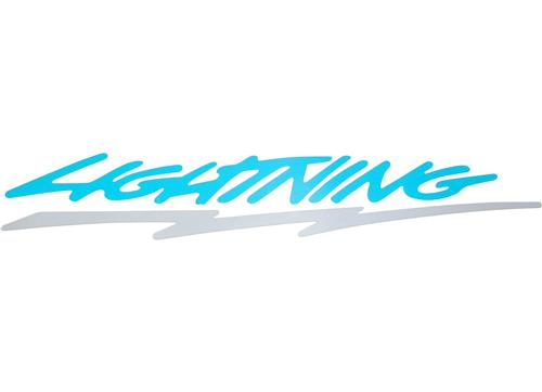 F-150 SVT Lightning Tailgate Decal, Reproduction (93-95)
