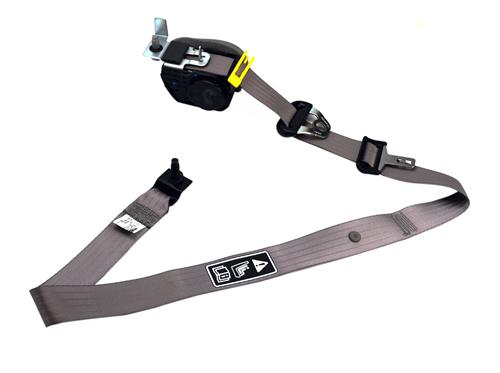 F-150 SVT Lightning Front Seat Belt Assembly - RH Dark Charcoal (01-02)