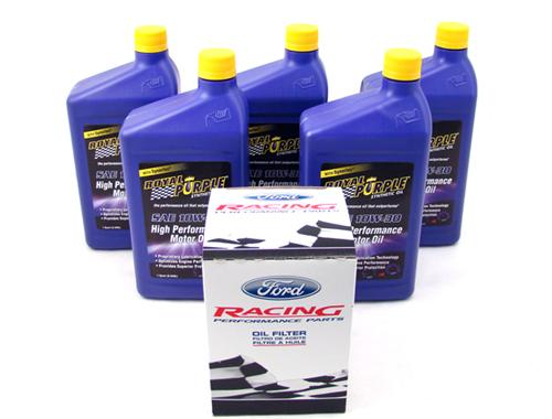 SVT Lightning Royal Purple Oil Change Kit, 10W30 (93-95)