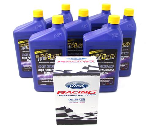 SVT Lightning Royal Purple Oil Change Kit, 10W30 (99-00)