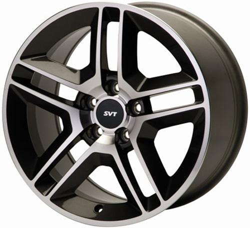 2005-14 MUSTANG MACHINED 2010 GT500 STYLE WHEEL, 18X9.5,  M-1007-DC1895`1