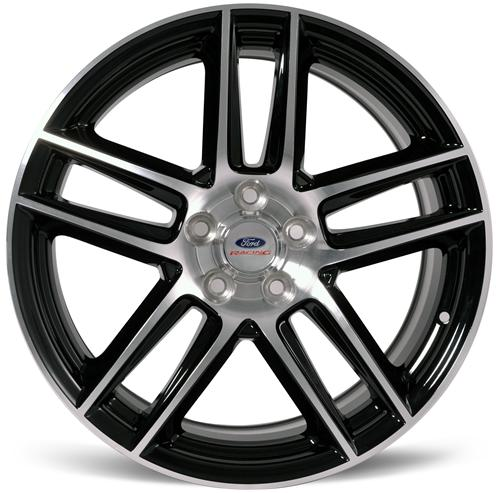 Ford Racing Mustang 2012 Boss 302 Laguna Seca Wheel 19X10 Black W/ Machined Face (05-14) M-1007-DC1910LGB