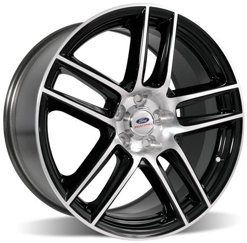 Ford Racing Mustang 2012 Boss 302 Laguna Seca 19X9 Black With Machined Face (05-14) M-1007-DC199LGB