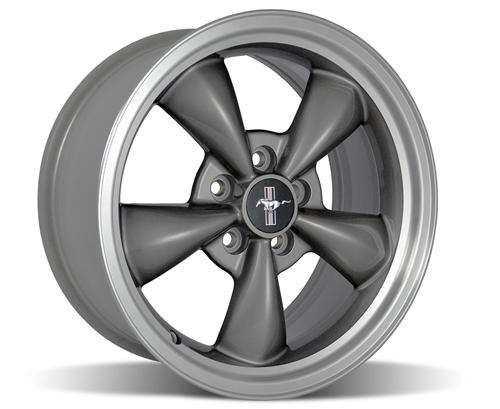 "Ford Racing Mustang 2001 Bullitt Wheel 17X8""  Charcoal Gray (94-04) M-1007-J178"