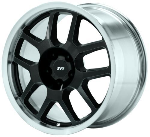2007 Black Mustang Svt Wheel with Machined Lip M-1007-S1895b1