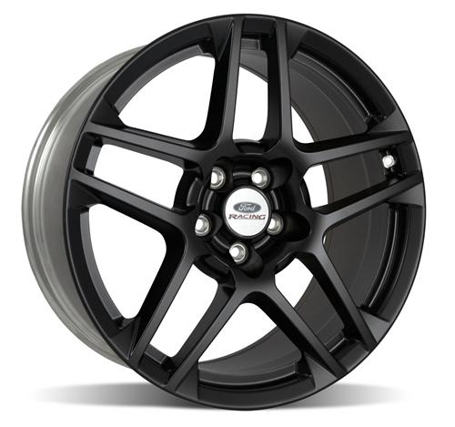 "Ford Racing Mustang SVT 5 Spoke GT500 Wheel 19X9.5"" Black (05-15) M-1007-SA1995MB"