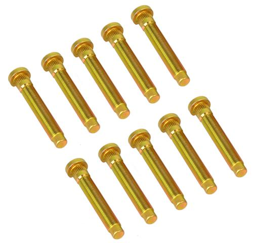 Mustang Extended Front Wheel Studs M-1107-A Pack Of 10 - Photo of Mustang extended front wheel studs from Ford Racing