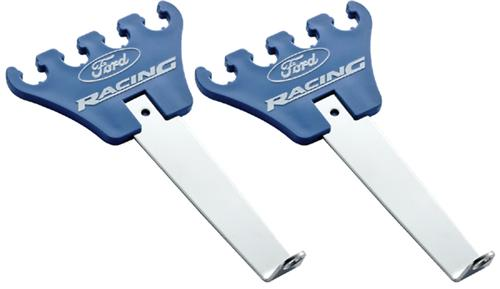 Ford Racing Mustang 4-Wire Plug Wire Loom/Separator Pair Blue
