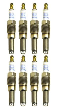 Ford Racing Mustang 16mm Spark Plugs, Zero Degree Set Of 8 (05-07) 4.6L 3V 5.4L M-12405-3V0