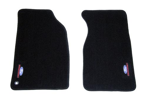 94-04 FLOOR MATS, FORD RACING, CHARCOAL, PAIR M-13086-B