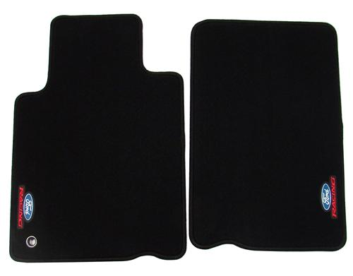 2005-10 MUSTANG BLACK FORD RACING FLOOR MATS, M-13086-C