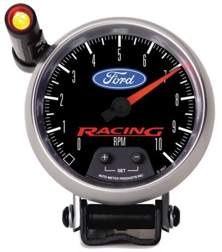 "Ford Racing 3-3/8"" Tachometer with Shift Lite, M-17360-B"