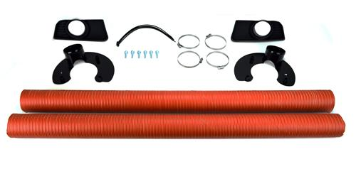 Ford Racing Mustang Boss 302 Brake Cooling Duct Kit (10-12) M-2004-MB