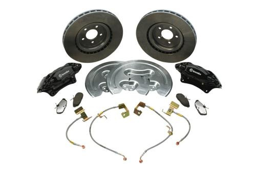 "Ford Racing Mustang GT500 14"" Front Brake Kit (05-14) M-2300-S"