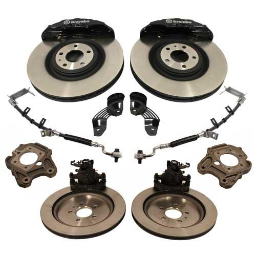 2005-14 Mustang Brembo Brake Upgrade , 13-14 GT500 style